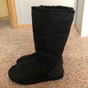 UGG Classic Tall Black Boots